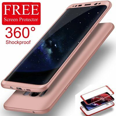 Shockproof 360 Full Body Hybrid Case Cover For Samsung Galaxy S9 S8 S7 Edge+Film