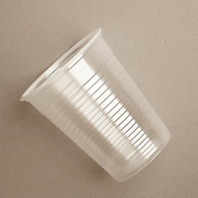 500 Plastic cups/ Drinking cups / cold cups for water dispenser / cooler - 200ml
