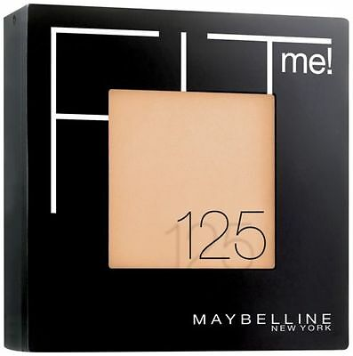 Maybelline Fit Me Pressed Face Powder Nude Beige 125