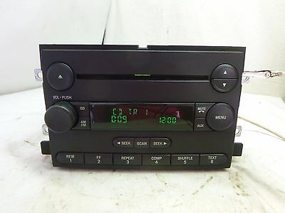 04-07 Ford Mercury F150 Mustang Freestyle Radio CD 6L3T-18C869-AD B32