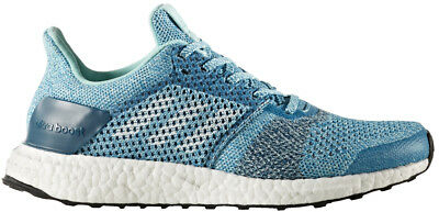 adidas Ultra Boost ST Ladies Running Shoes - Blue