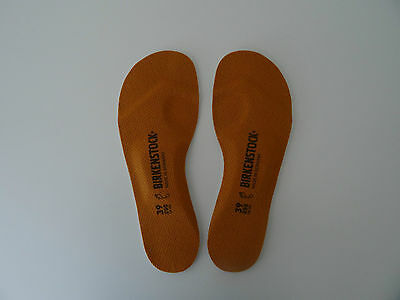 BIRKENSTOCK FOOTBED INSOLES 39/L8M6 New! 1001258 Birko-Tex