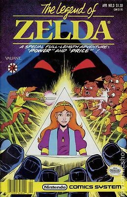 Legend of Zelda (1990 $1.95 1st Series) #3B FN