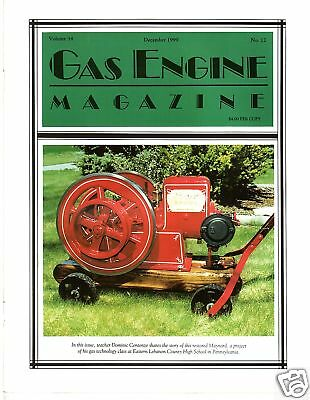 Edwards Gas Engine - Shingle Mill Restoration, magazine