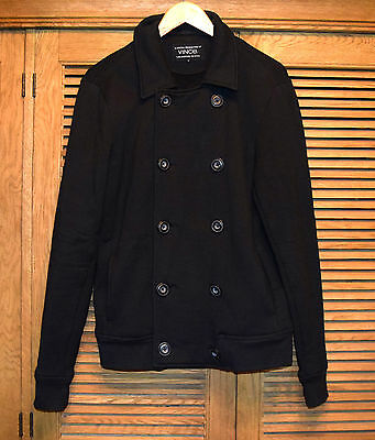 VINCE Double Breasted 100% Cotton Peacoat Size Small EUC