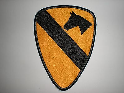 Us Army 1St Cavalry Division Patch - Full Color