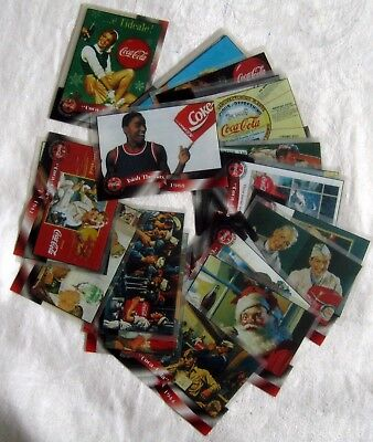 COCA COLA COLLECTION ~ 1996 Sprint Phone Cards/Cells Lot