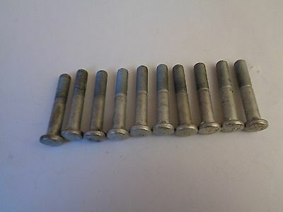 Schwinn Bicycle Vintage Lot of 10 Seat Post Bolts-Original New Old Stock 1-3/4""