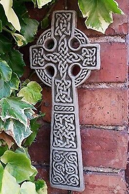 Stone Garden Celtic Cross Knot Wall Plaque Hanging