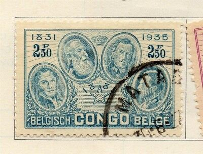 Belgian Congo 1935 Early Issue Fine Used 2.50F. 182845