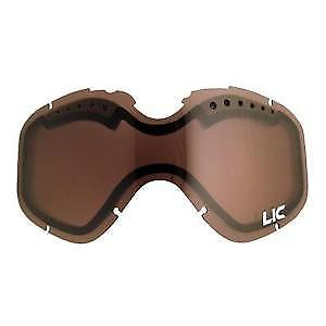 Liquid Image IONIZED HD Video Snow Goggles Replacement Dual Lens 632-110
