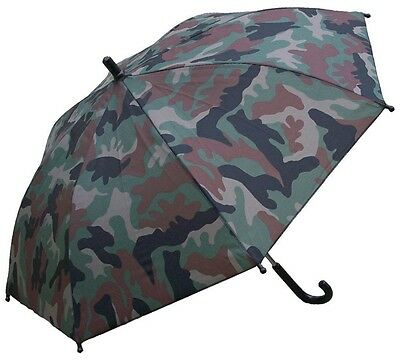 "RainStopper 34"" Children's Sun Shade Umbrella Unisex Woodland Camo"