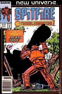 Spitfire and the Troubleshooters (1986) #2 VG LOW GRADE
