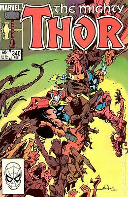 Thor (1962-1996 1st Series Journey Into Mystery) #340 VG LOW GRADE
