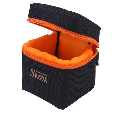 Waterproof Camera Lens Bag Padded Pouch Protector Carry Small Case Shooting EB