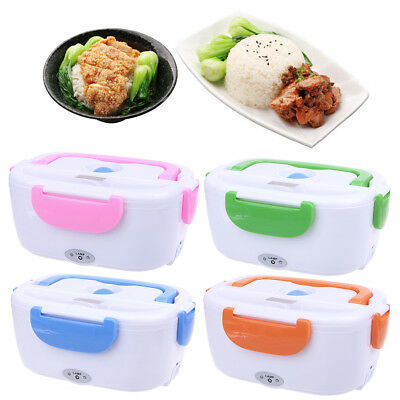 Portable Electric Heat Food Warmer Box Container Lunch Meal Lunchbox 110V US