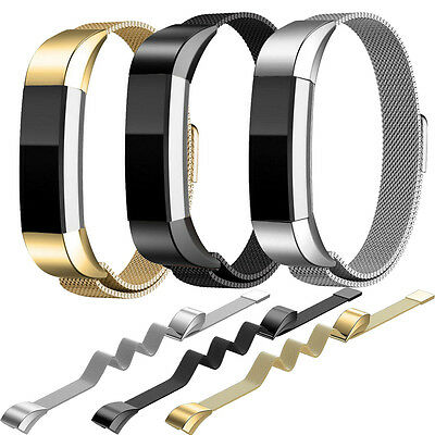 Metal Stainless Steel Wrist Band Watch Strap Bracelet Clasp For Fitbit Alta HR