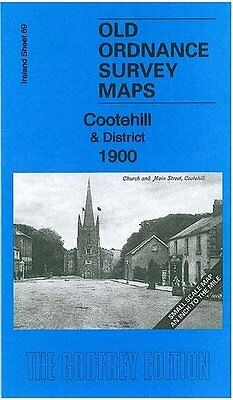 Old Ordnance Survey Map Cootehill & District 1900