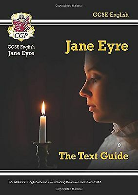 GCSE English Text Guide Jane Eyre Study Aid Book New Free Post