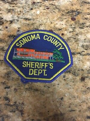 Sonoma County Sheriff's Dept Shoulder Patch