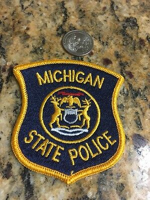 Vintage Patch: michigan State Police