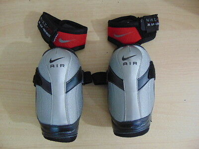 Hockey Elbow Pads Child Size Junior Small Age 7-9 Nike Air Black Red Grey