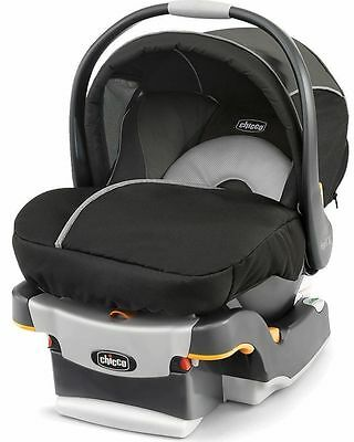 Chicco Keyfit 30 Magic Infant Child Safety Car Seat & Base Coal 4 - 30 lbs NEW