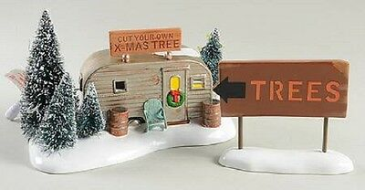 "Dept. 56 Snow Village ""THE GRISWOLD FAMILY BUYS A TREE"" ~ Christmas Vacation"