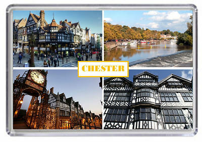 Chester, Cheshire Fridge Magnet 01
