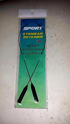 Sport Sunglasses  cable  retainer holder for less than Cablz. New on Package