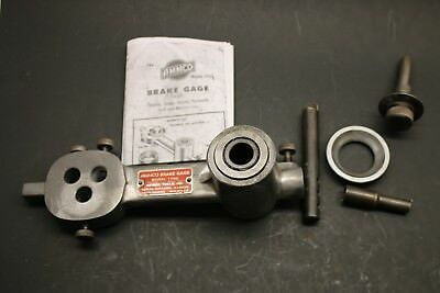 Ammco 1750 Drum Brake Gage Complete w/  Instructions Ford Dodge DeSoto