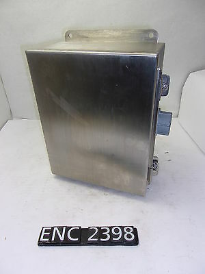 Hoffman A1008CHNFSS6 Stainless Steel 11.5x9x4.5 Electrical Enclosure (ENC2398)