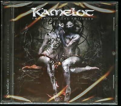 Kamelot Poetry For The Poisoned  German CD new