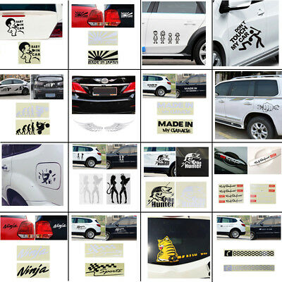 Multi Pattern Personality Car Stickers Vinyl/Metal Decal For Truck Decor Decal