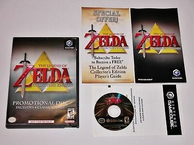 Legend of Zelda Collector's Edition Complete - Nintendo GameCube & Wii *TESTED*