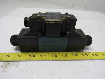REXROTH DOUBLE SOLENOID Hydraulic Pilot Valve with block - $255 00