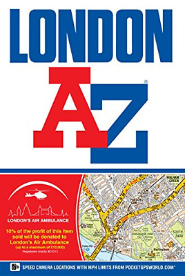 London Street Atlas (A-Z Street Atlas), Geographers A-Z Map Company Ltd, Good Co