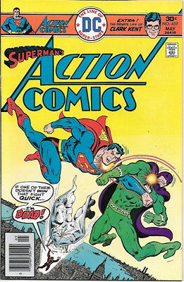 Action Comics Comic Book #459 Superman DC Comics 1976 VERY FINE-