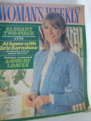 Womans Weekly Magazine 6 Feb 1971 Knitting Patterns Fiction