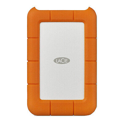 LaCie Rugged USB-C and USB 3.0 2TB Portable Hard Drive - STFR2000800