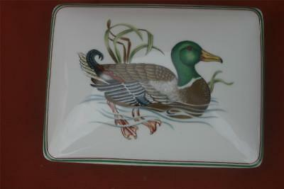 Fitz and Floyd Playing Card Box Duck Canard Sauvage Porcelain Unopened Cards