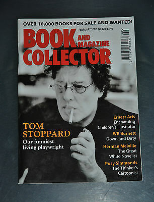 Book Collector Feb 2007 # 278 - Tom Stoppard, Posy Simmonds, W. H. Auden