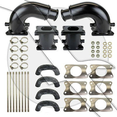 "Mercruiser Exhaust Riser Kit 6"" with Elbows 6 inch 862354A1 862354A04"