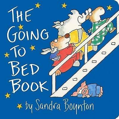 NEW The Going to Bed Book By Sandra Boynton Hardcover Free Shipping