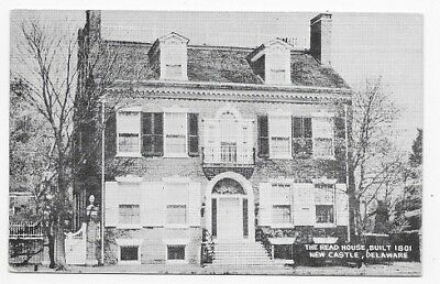NEW CASTLE DELAWARE The Read House Built 1801 Unposted Post Card #2271
