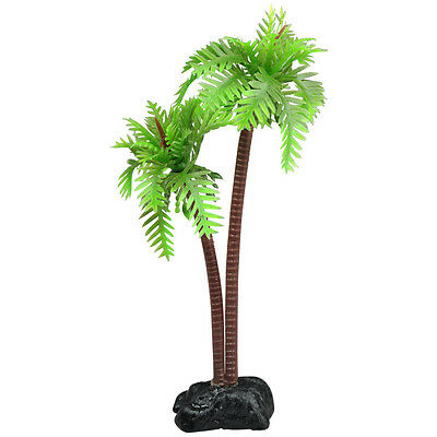 DIGIFLEX Aquarium Fish Tank Palm Trees Landscaping Ornament 8.5cm x 7.5 cm x 3cm