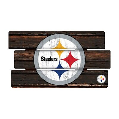 Pittsburgh Steelers Defense Holzschild XL  63 cm ! !,NFL Football,Fence Sign