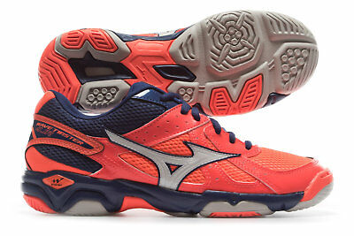 Mizuno Wave Twister 4 Kids Netball Trainers Training Shoes Footwear Sports