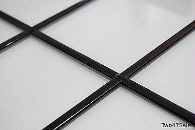 50m Antique Self Adhesive Lead windows glass window leaded stick strip stained
