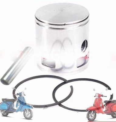 Vespa Piston Assly 3Rd O/s 58.4 Mm Flat Head Px Lml Star Stella Scoots @aus